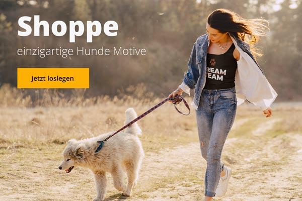 Hunde Motive Shoppen