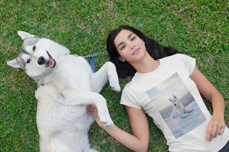 Suchergebnisse Webergebnisse Der eigene Hund auf dem T-Shirt